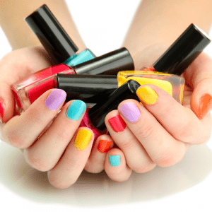Kids Gel Color on Nails