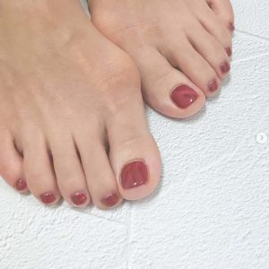 Oxygen Bubble Pedicure with Gel Polish