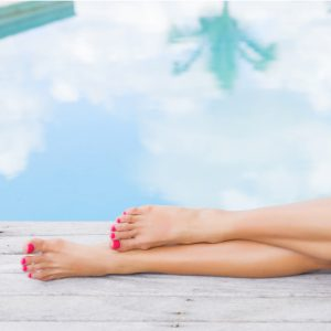 Organic Volcanic Collagen Pedicure with Gel Polish